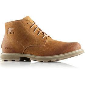 Sorel Madson Chukka Waterproof Shoes Men Camel Brown/Pebble